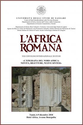 "Copertina Programma ""L'Africa romana XXI"""