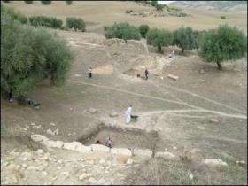 Veduta dell'area dell'anfiteatro